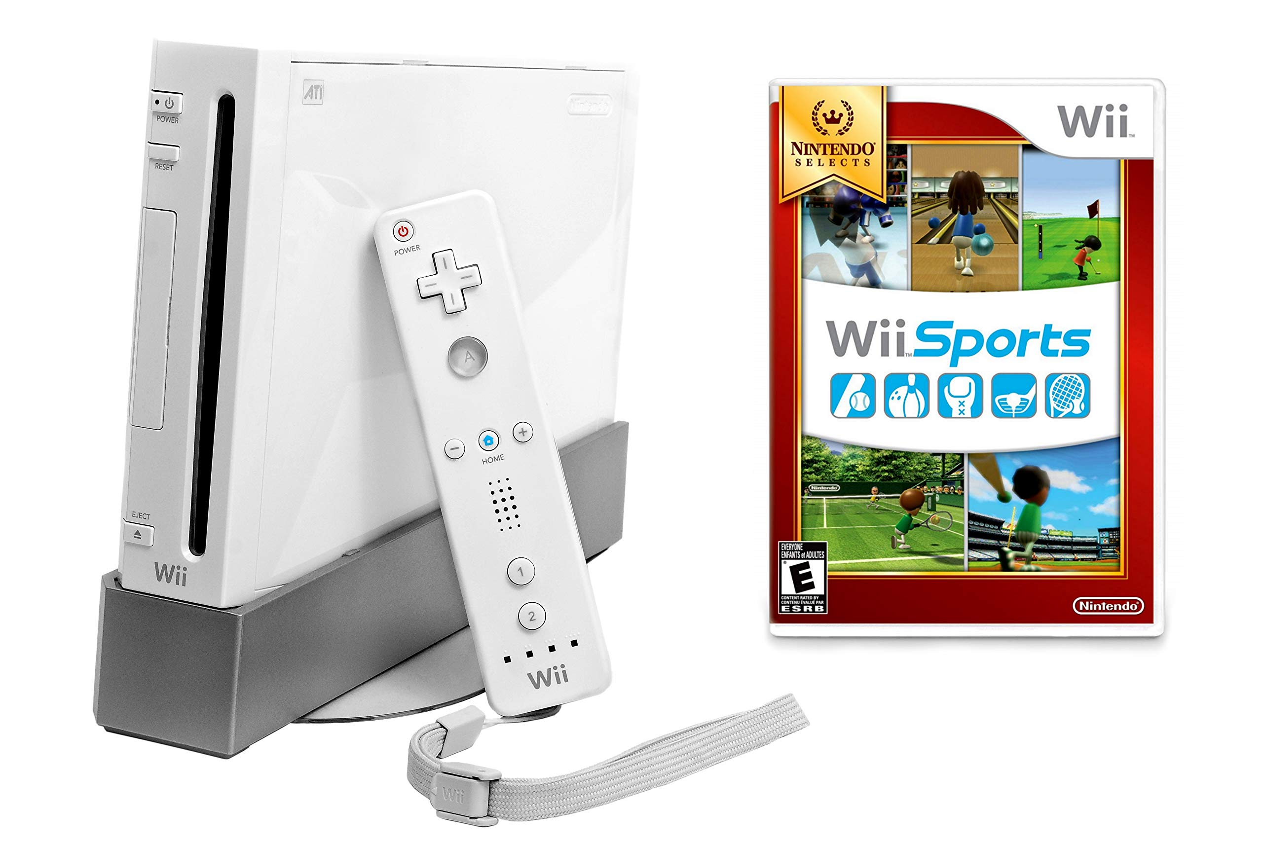 Nintendo Wii Console with Wii Sports (Renewed) by Nintendo (Image #1)