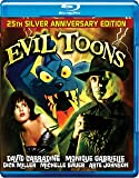 EVIL TOONS Blu Ray - Signed Limited Edition 1000 Copies