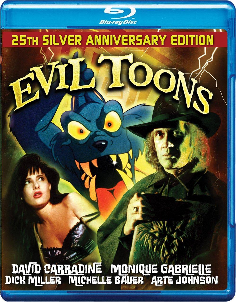 Amazon Com Evil Toons Blu Ray Special Edition David Carradine Monique Gabrielle Dick Miller Arte Johnson Fred Olen Ray Movies Tv