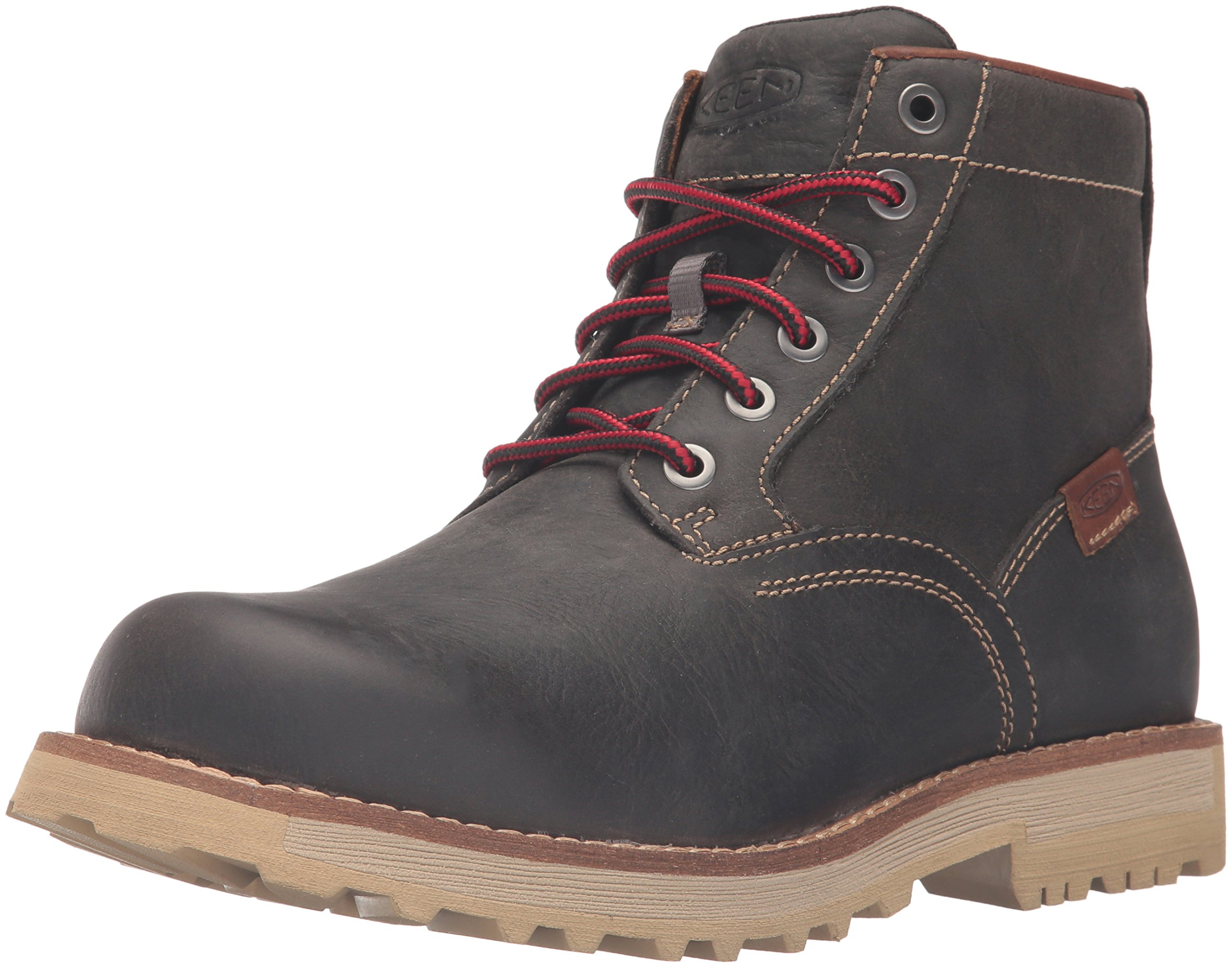 KEEN Men's The 59 Boot, Magnet Full Grain, 7 M US by KEEN