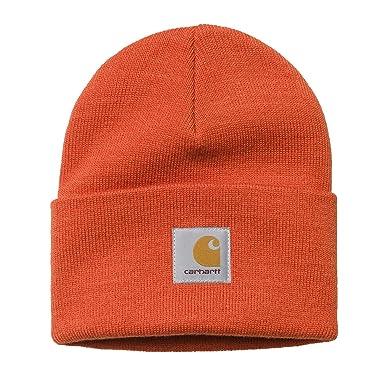 Carhartt WIP Unisexe Homme Femmes Chapeau Hat Hiver Bonnet Hiver Orange d3b5d5c608f