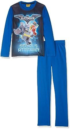 LEGO Batman Boys Pyjama - Blue  Amazon.co.uk  Clothing b5691d110