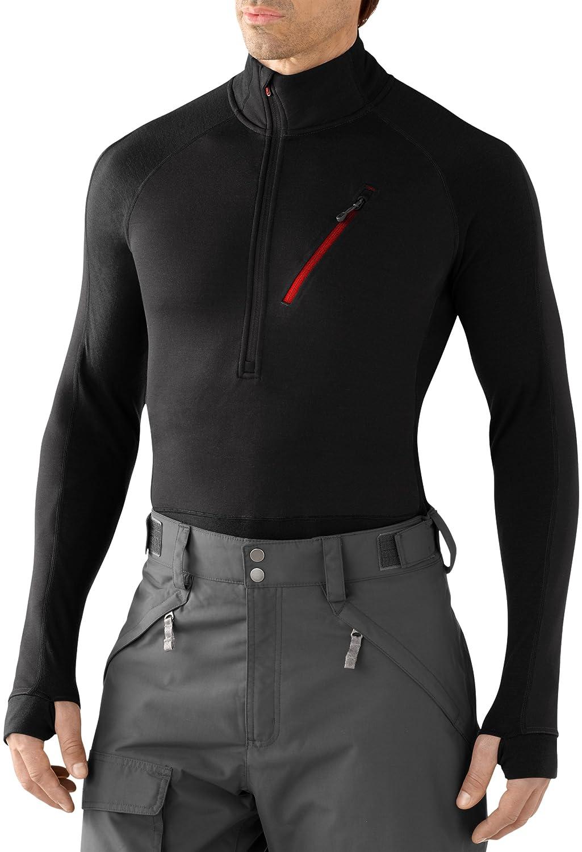 Smartwool Herren Pullover M PHD HYFI Divide Half Zip