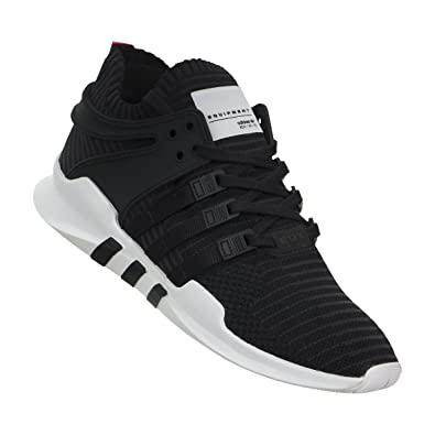 Amazon.com | adidas Men's EQT Support ADV Black Sneaker ...