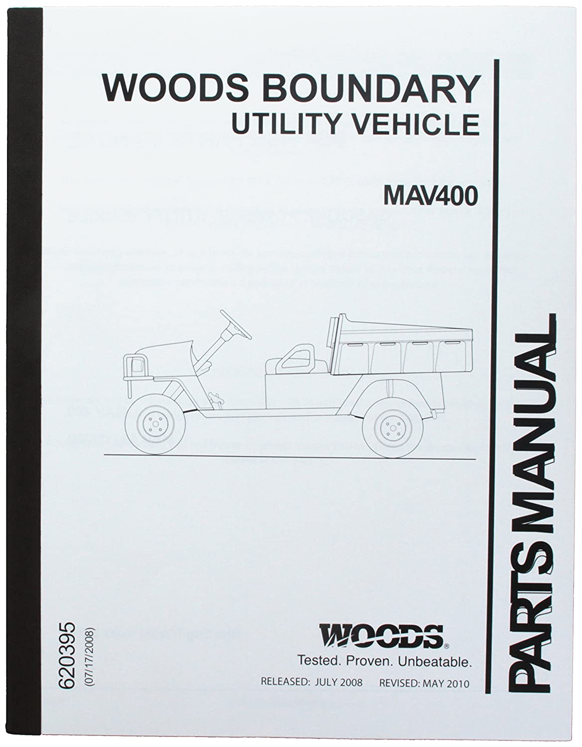 Ezgo 620395 2008 Service Parts Manual For Gas Woods Jeep Schematic Boundary Mav 400 Utility Vehicle Outdoor Decorative Fences Garden