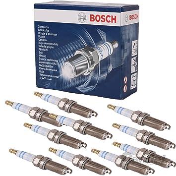 Bosch 12x Original BOSCH Super plus FR8DPP33+ CLASSE - Bujía para motor de barco