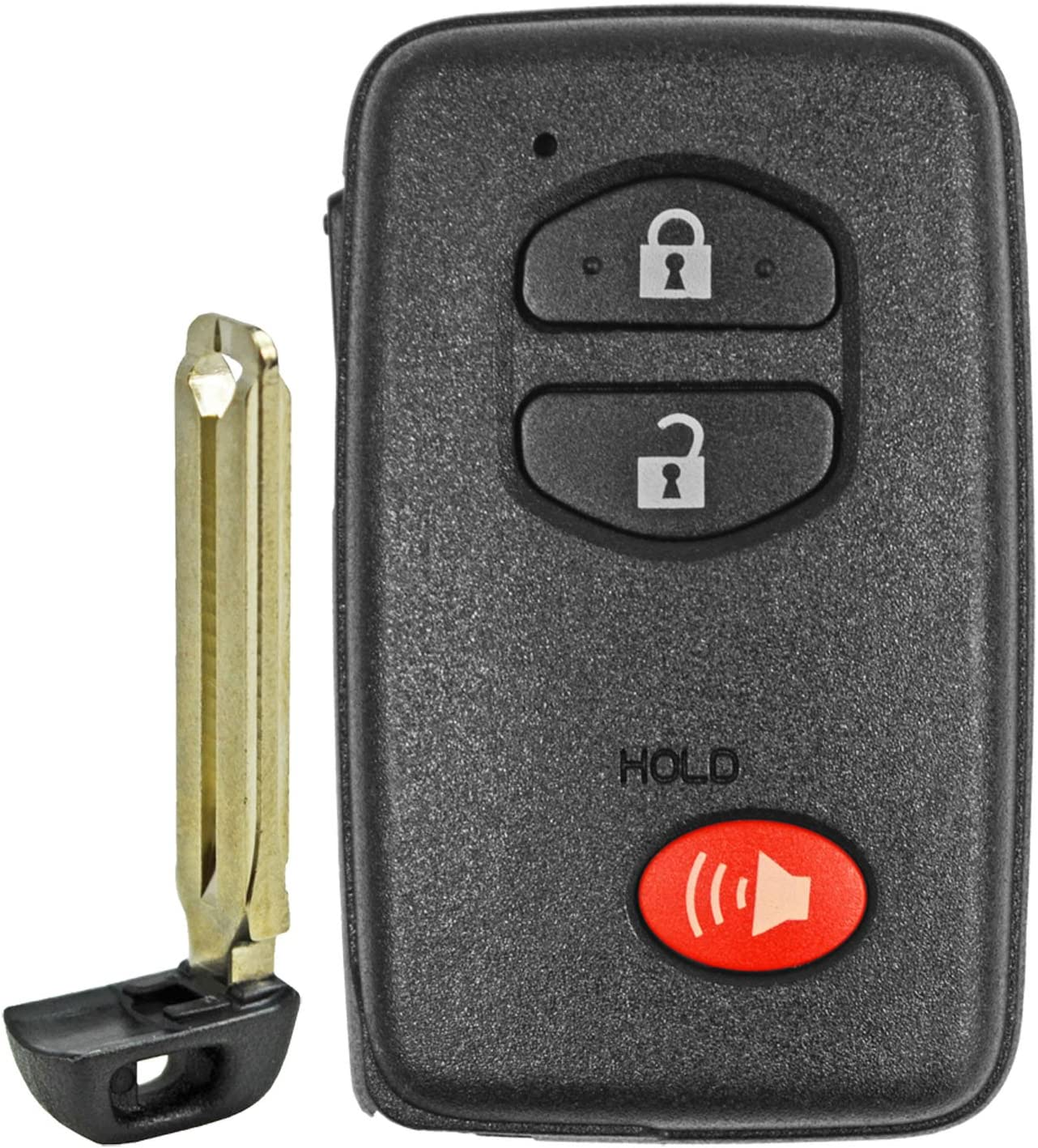 HYQ14AAB E-Board with Keytag Return QualityKeylessPlus Aftermarket Replacement Toyota Prox Smart Key Remote for 2009-2012 Toyota Rav4 and 2011 Toyota Prius Keyless Entry FCC ID