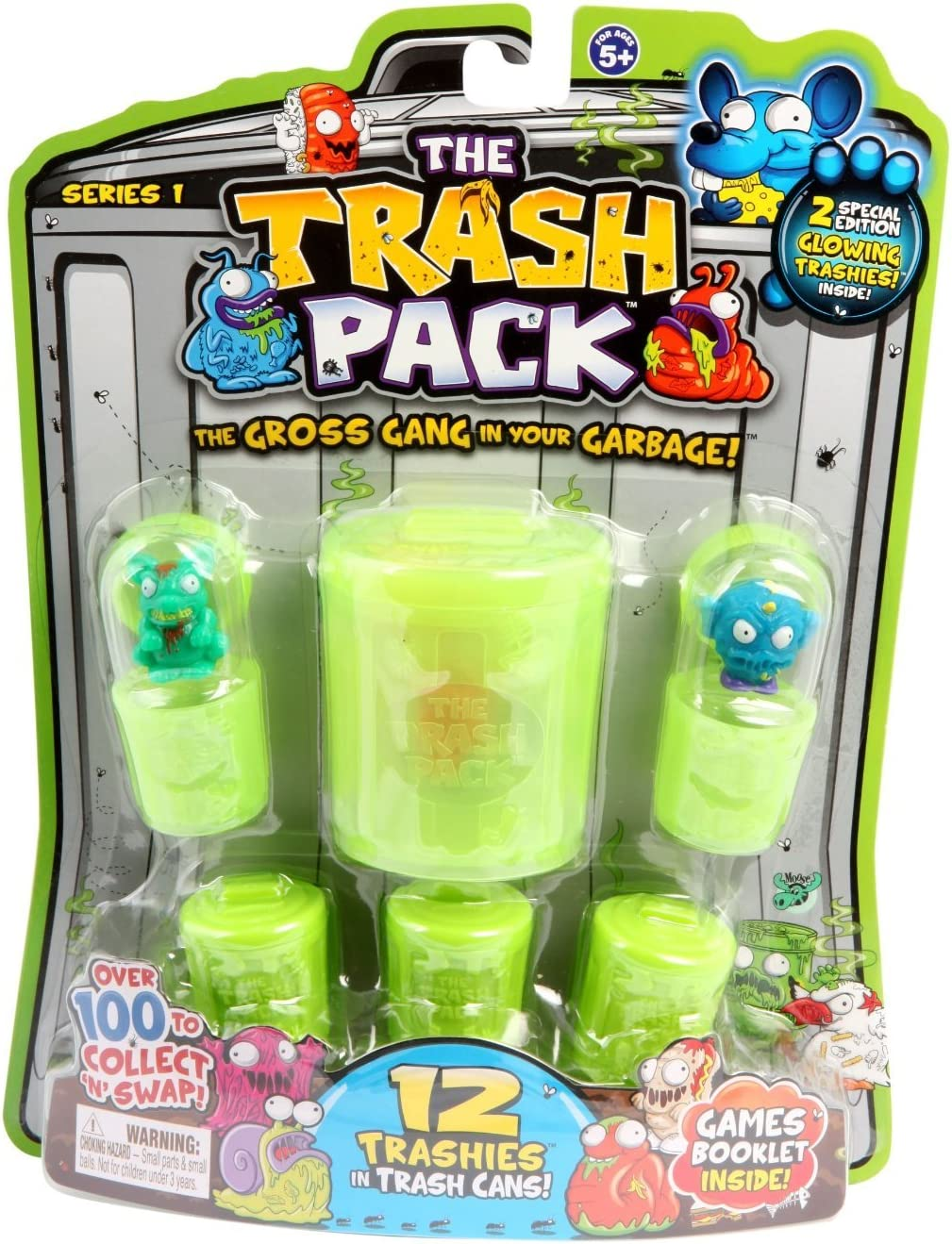 The Trash Pack Los Basurillas - Blister de 12 Personajes con Accesorios (Surtido) (Giochi Preziosi): Amazon.es: Juguetes y juegos