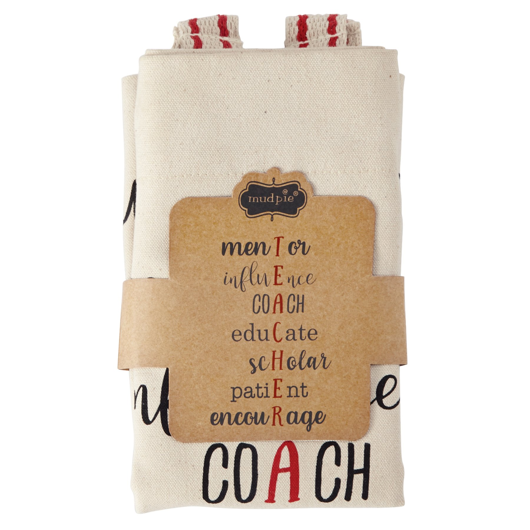 Mud Pie Teacher Mentor Tote Bag, One Size, Off White by Mud Pie (Image #2)