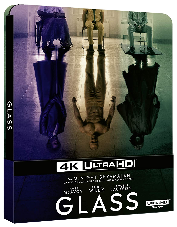 Glass (Steelbook) (Blu-Ray 4K Ultra HD+Blu-Ray) [Italia] [Blu-ray]