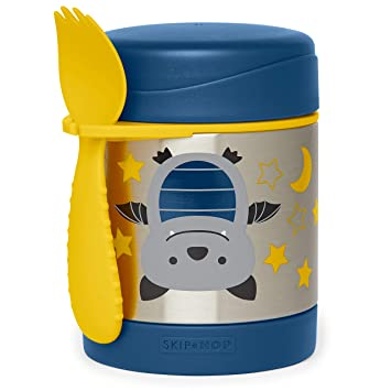 Skip Hop Kids Zoo Insulated Food Jar Dog