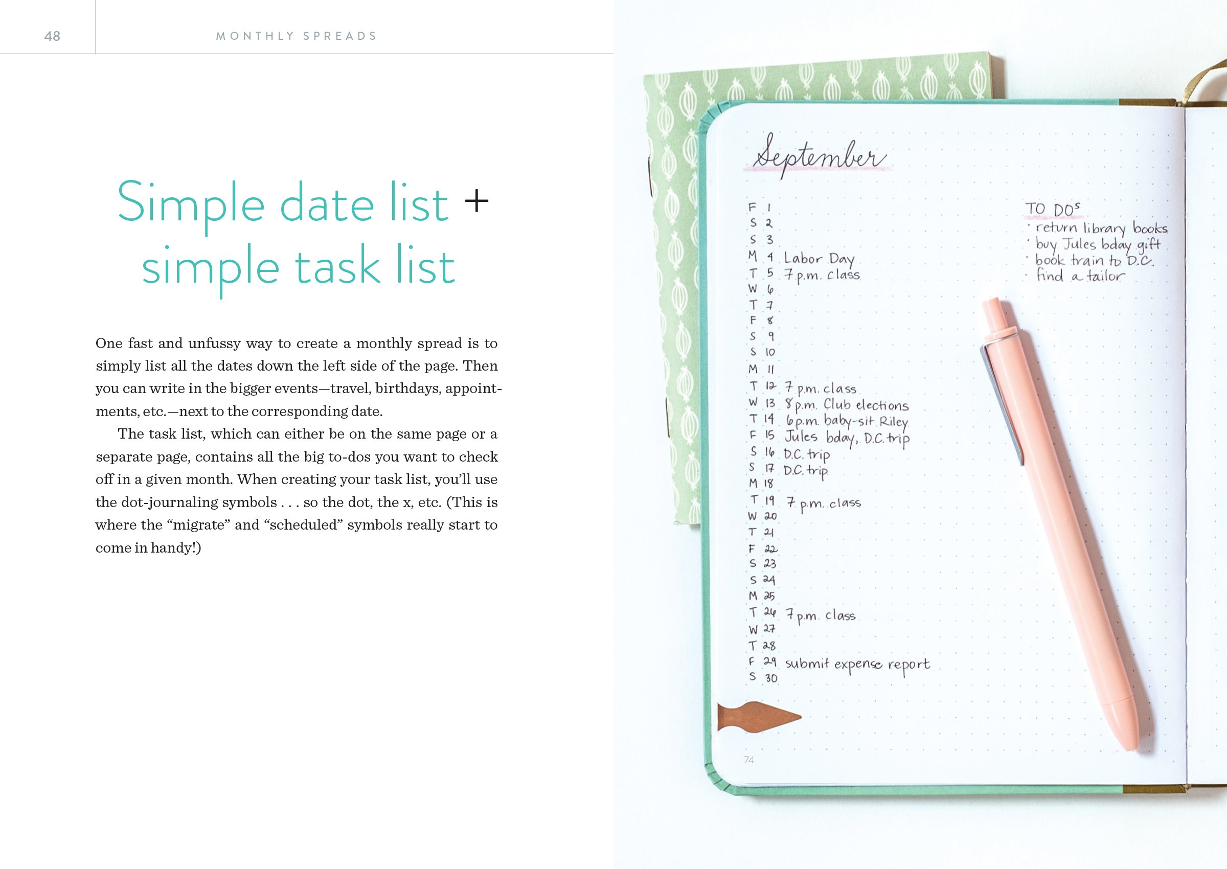 Dot Journaling-The Set: Includes a How-To Guide and a Blank Dot-Grid ...