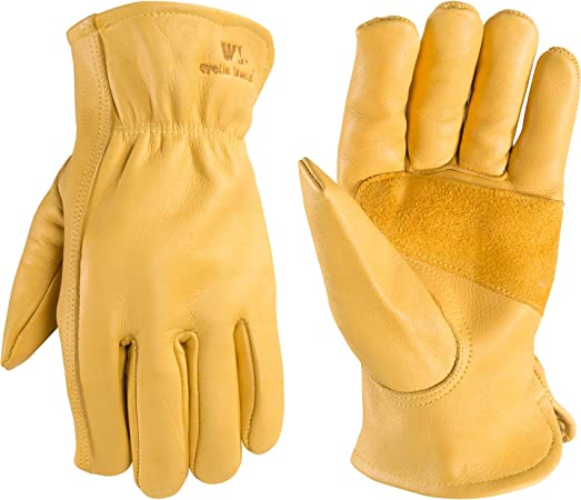 Wells Lamont Reinforced Leather Work Gloves
