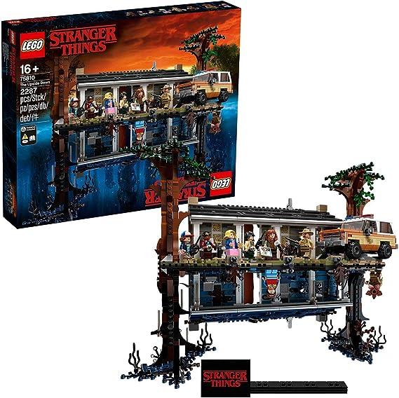 LEGO Stranger Things - Mundo del revés, Set de construcción de la casa de Will, incluye 8 minifiguras de personajes de la serie (75810): Amazon.es: Juguetes y juegos