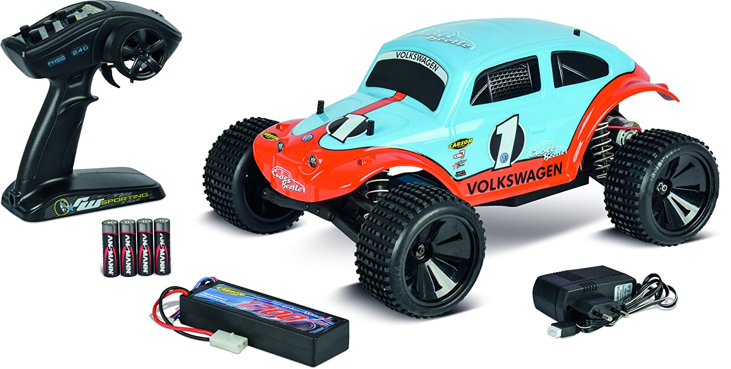 Carson 500404086 –  1  10 Beetle Warrior 2 WD 2.4 G 100% RTR Veicolo