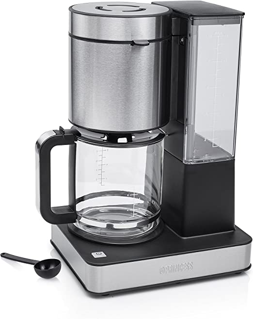 Princess 246002 Cafetera Superior, 1000 W, 14 cups, Acero ...