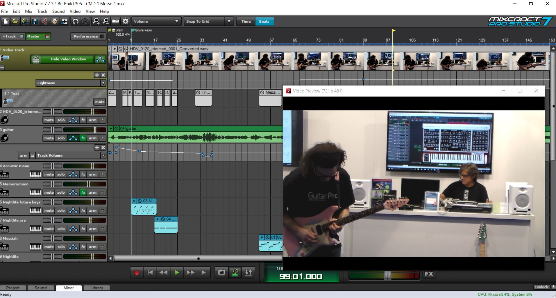 Mixcraft Pro Studio 7 [Download] [Online Code]