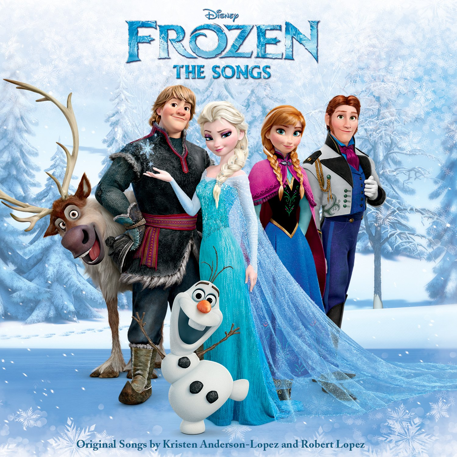 CD : Frozen: The Songs / Various