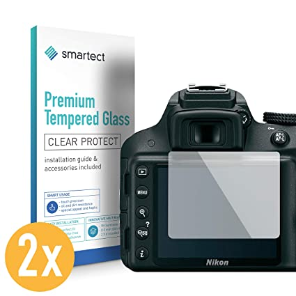 smartect Protector de Pantalla para Nikon D3100 / D3200 / D3300 ...
