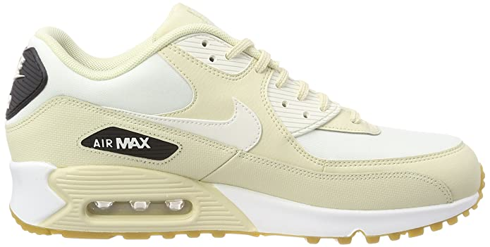 Nike Women's WMNS Air Max 90 Trainers, Beige (FossilSail