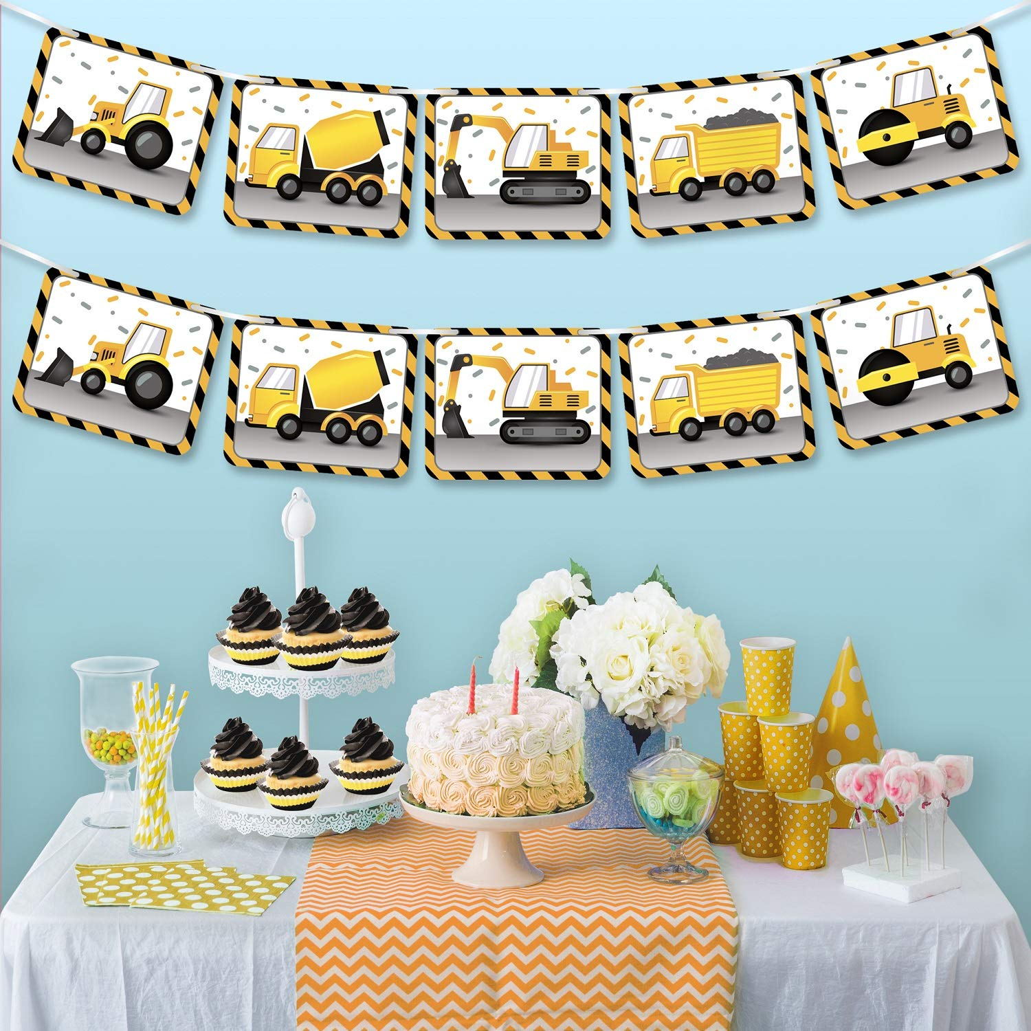 Nautical Themed Fiesta Flags Pennant Banner 10 Feet Long 9 Mini Flags Made of Polyester Cloth Birthday Party Decorations Bunting For Boys Girls Desert Cactus