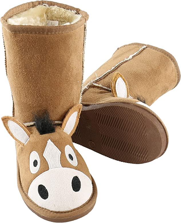 Horse Boot Cute Animal Character