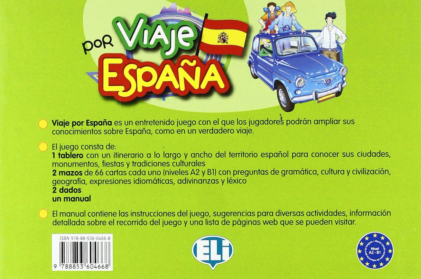 VIAJE POR ESPAÑA (Giochi didattici): Amazon.es: VV.AA: Libros