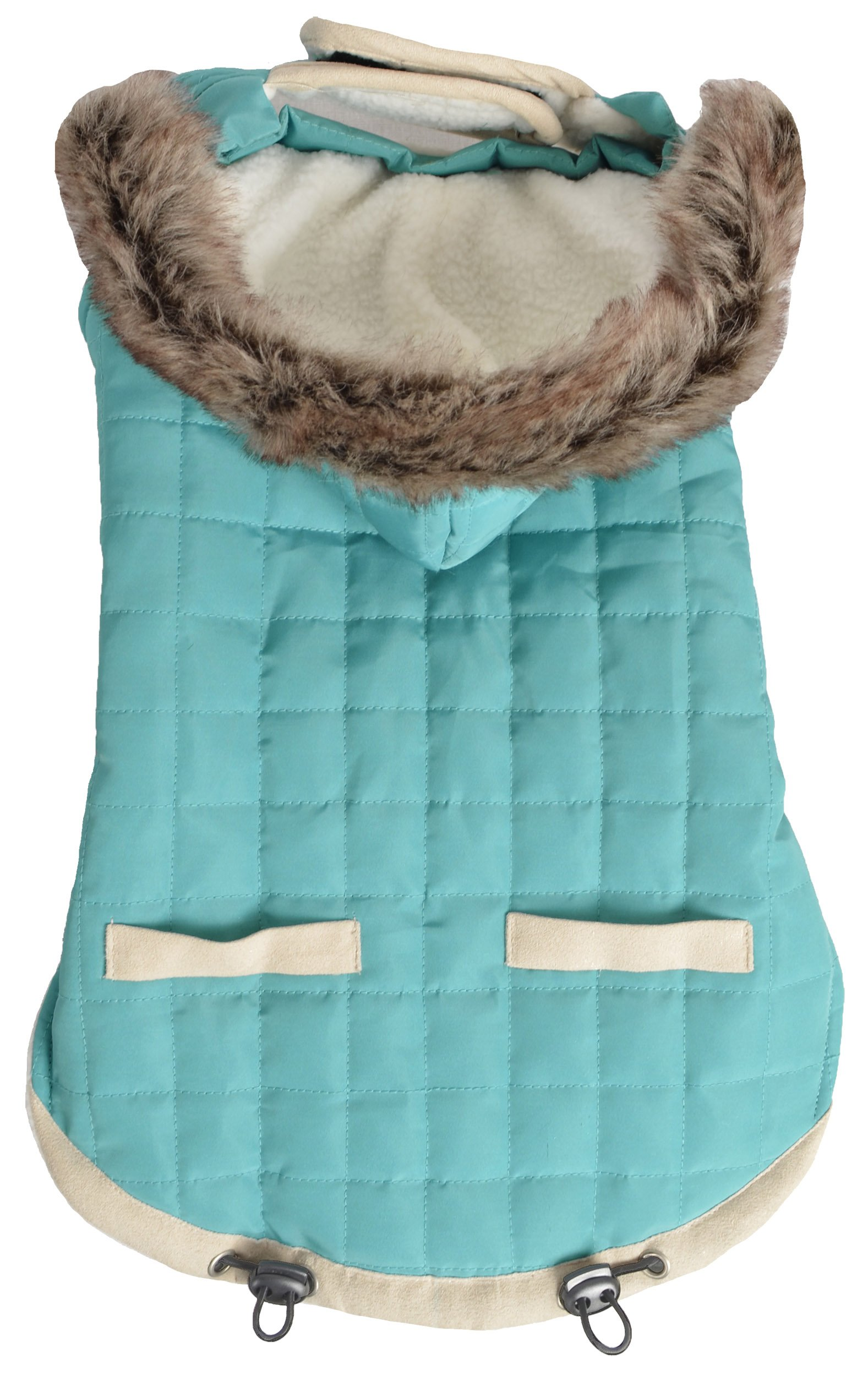 Animal Planet Puffy Jacket, Teal, small