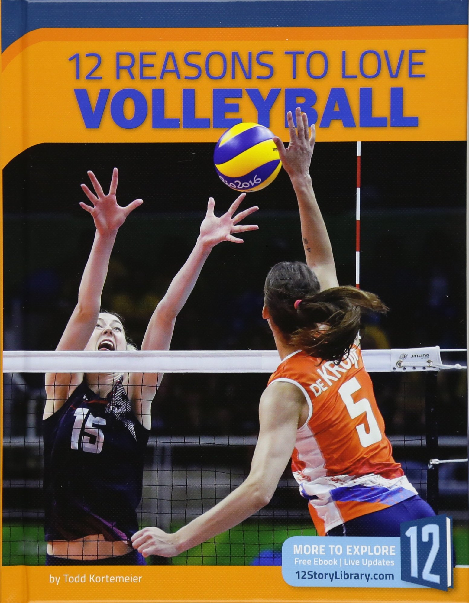 Download 12 Reasons to Love Volleyball (Sports Report) PDF