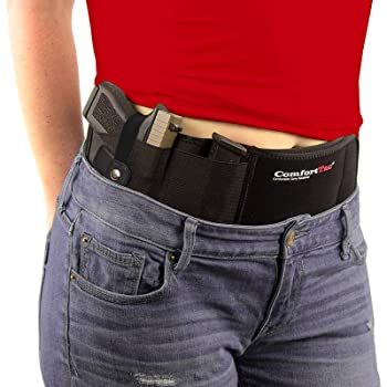 ComfortTac Ultimate Belly Band Gun Holster for Concealed Carry