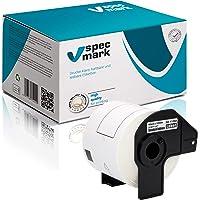 specmark 1 rollo de etiquetas individuales para Brother DK-11202, 62 mm x 100 mm, 300 unidades, compatibles con todas…