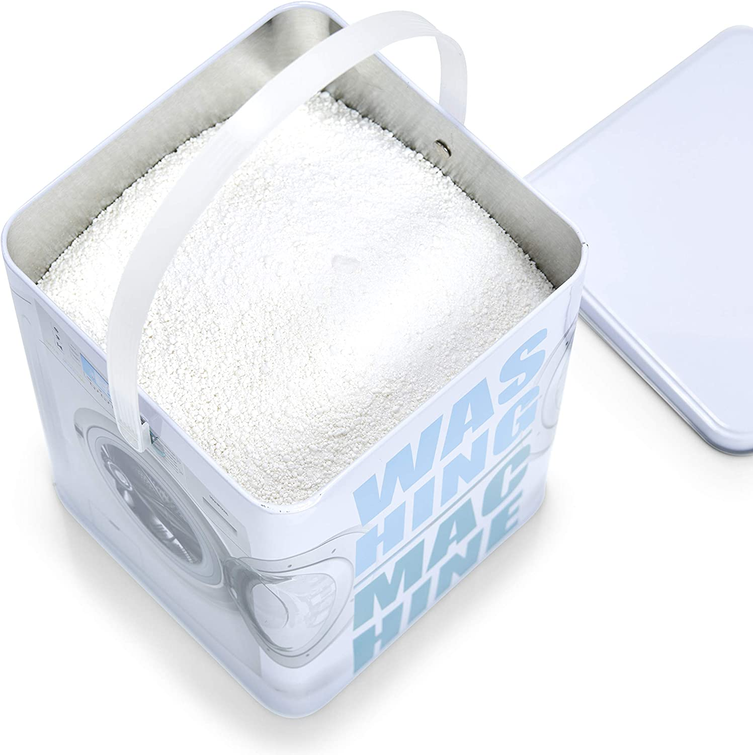 Zeller Washing Machine - Caja para detergente en Polvo (Metal ...