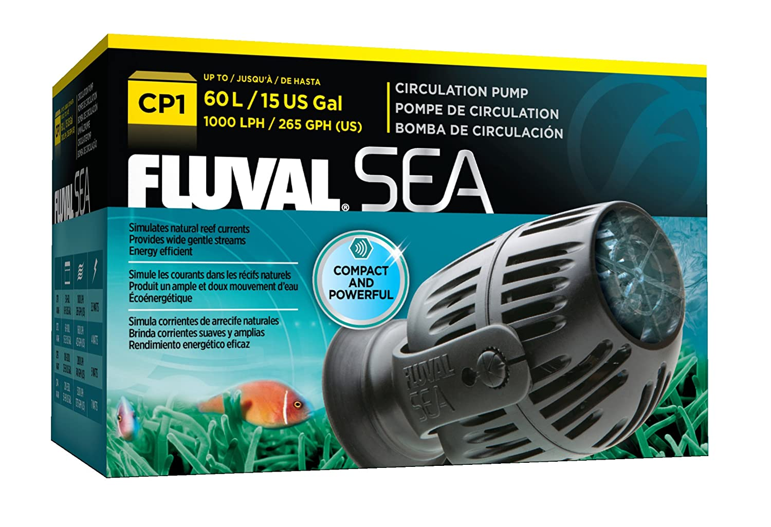 """1000 Lph Factory Direct Selling Price Fluval """"sea"""" Circulating Water Pump Cp1"""