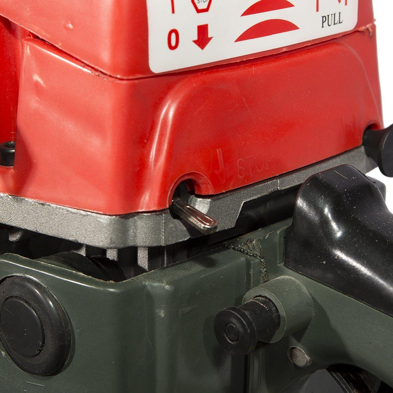 Motosierra gasolina con espada de 50cm cilindrada 52cc 2,75cv