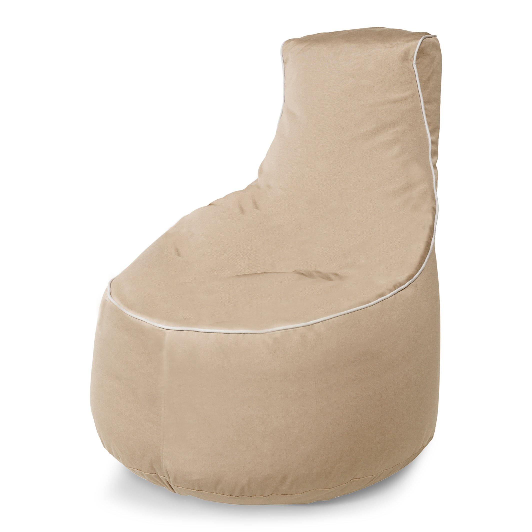 Sunbrella Upright Bean Bag Chair with Lumbar Support