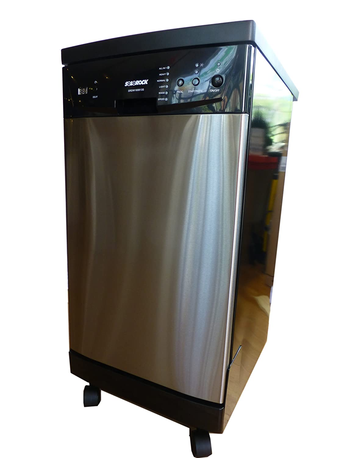 Solorock Deluxe 18 Stainless Steel Portable Dishwasher Ca