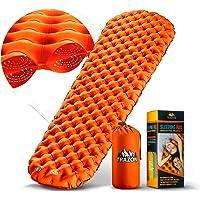 Camping Sleeping Pad - Mat, (Large), Ultralight Best Sleeping Pads for Backpacking, Hiking Air Mattress - Lightweight…