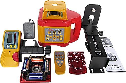 PLS Laser PLS-60575 PLS HVR 505R Mid Range Rotary Laser System, Yellow Red