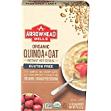 Arrowhead Mills Organic Instant Hot Cereal, Quinoa and Oat, Gluten Free, 8 Ounce