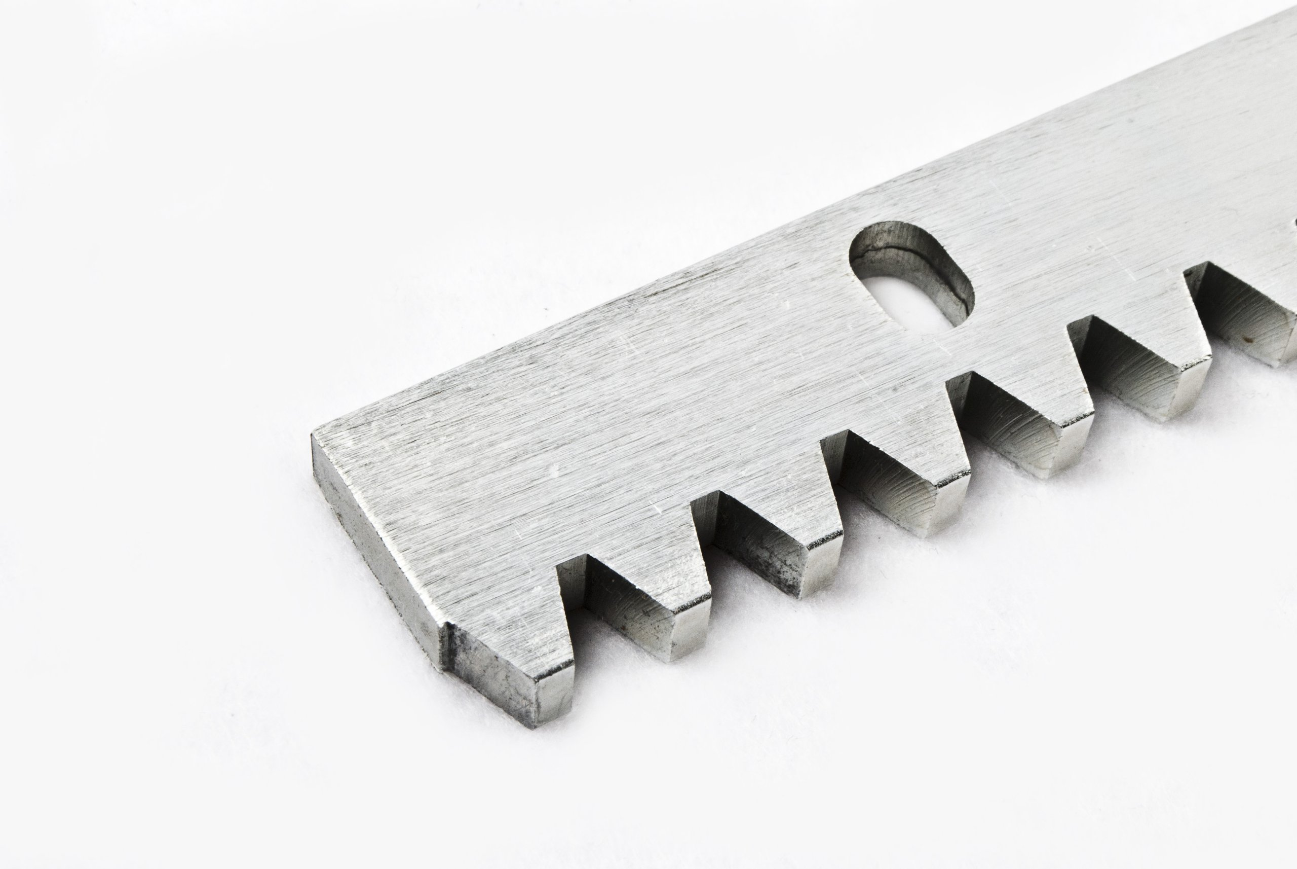 ALEKO 4MGRACK33 Steel Gear Racks for Sliding Gate Opener Operator Set of 4 3.3 Foot Racks Total 13 Feet