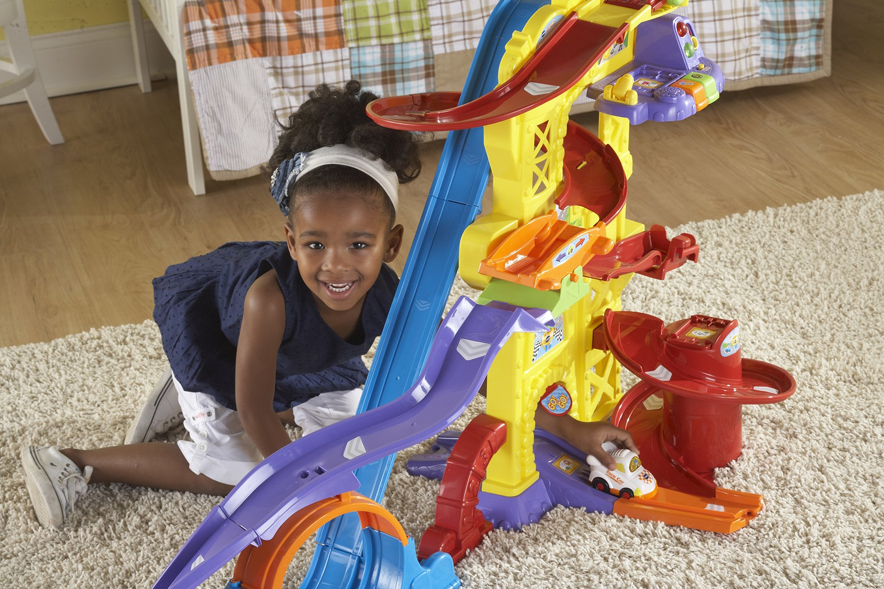 VTech Go! Go! Smart Wheels Ultimate Amazement Park Playset (Frustration Free Packaging) by VTech (Image #3)