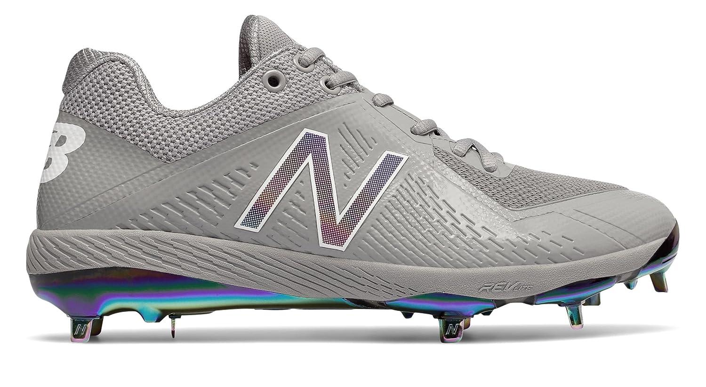 (ニューバランス) New Balance 靴シューズ メンズ野球 4040v4 Sunset Pack Grey with White グレー ホワイト US 12 (30cm) B073YRMPSR