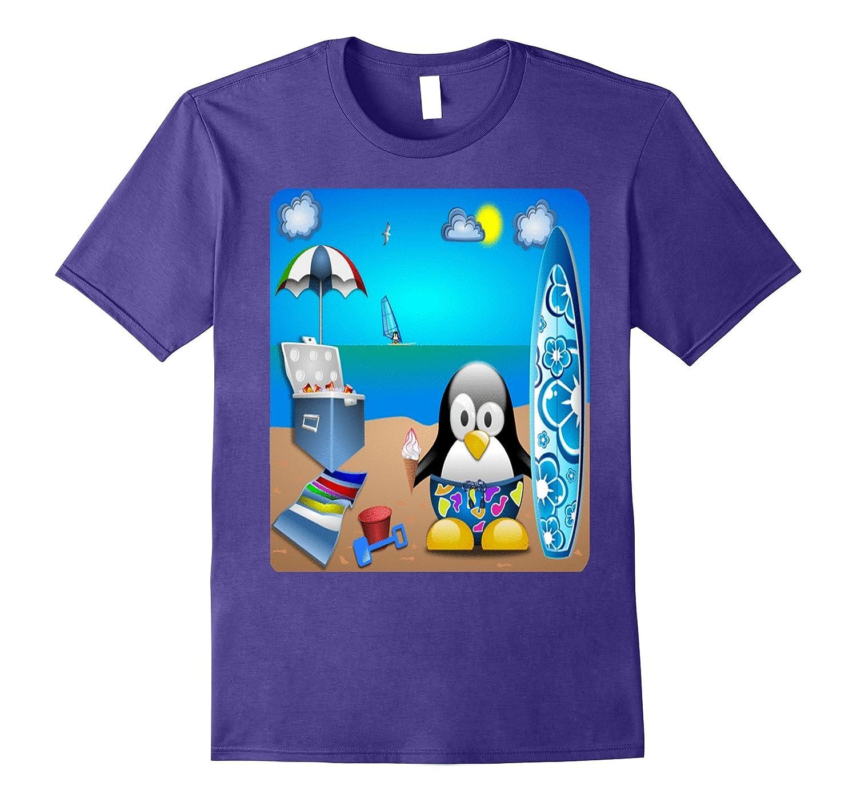 Summertime At The Beach T Shirt 3-Vaci
