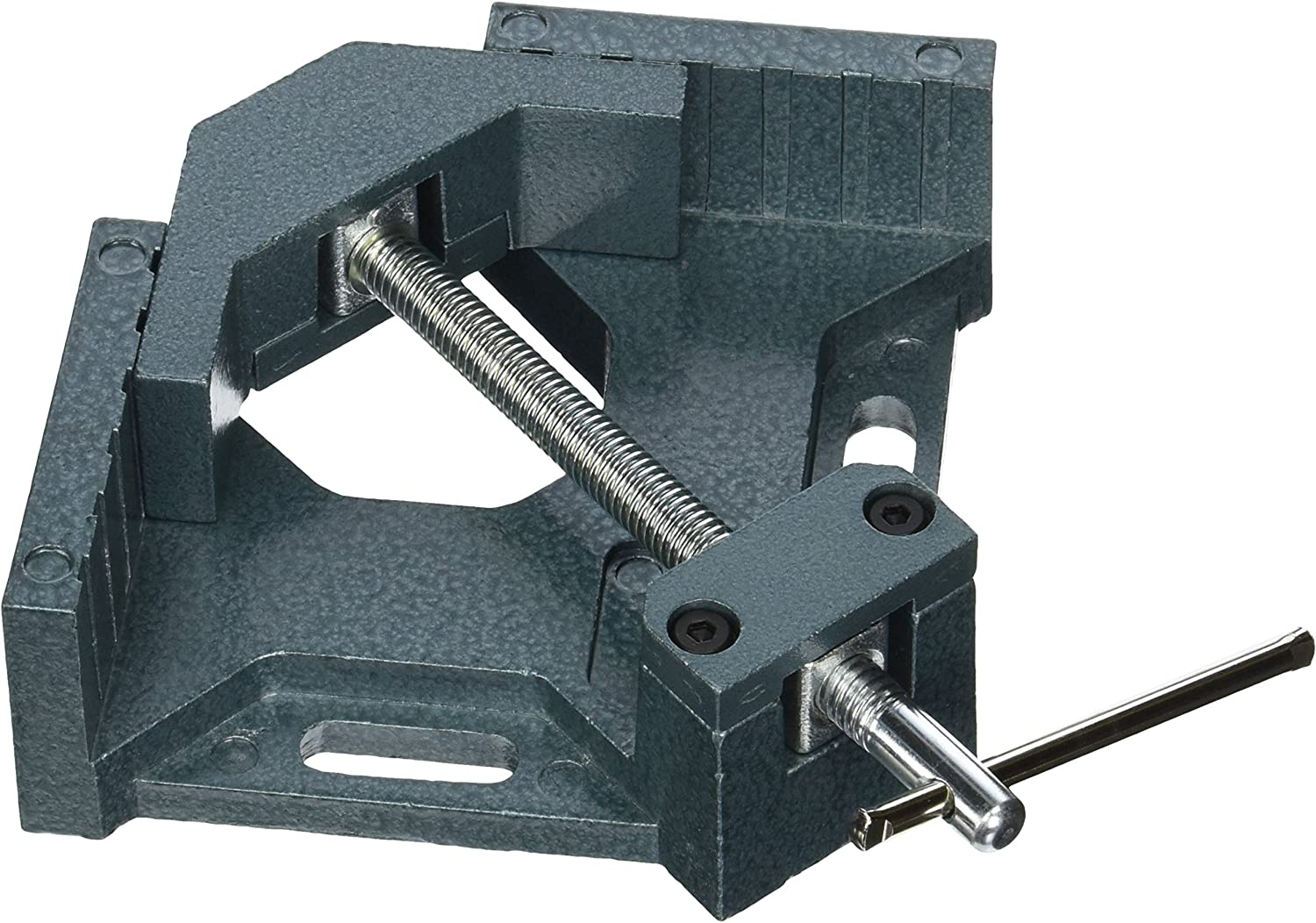 Wilton 44324 Ac-324, 90 Degree Angle Clamp, 4-Inch Throat, 2-3/4-Inch Miter Capacity, 1-3/8-Inch Jaw Height, 2-1/4-Inch Jaw Length