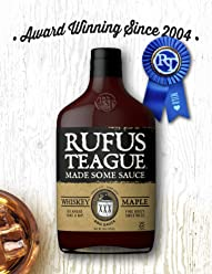 RUFUS TEAGUE SAUCE BBQ WHISKEY MAPLE 16OZ