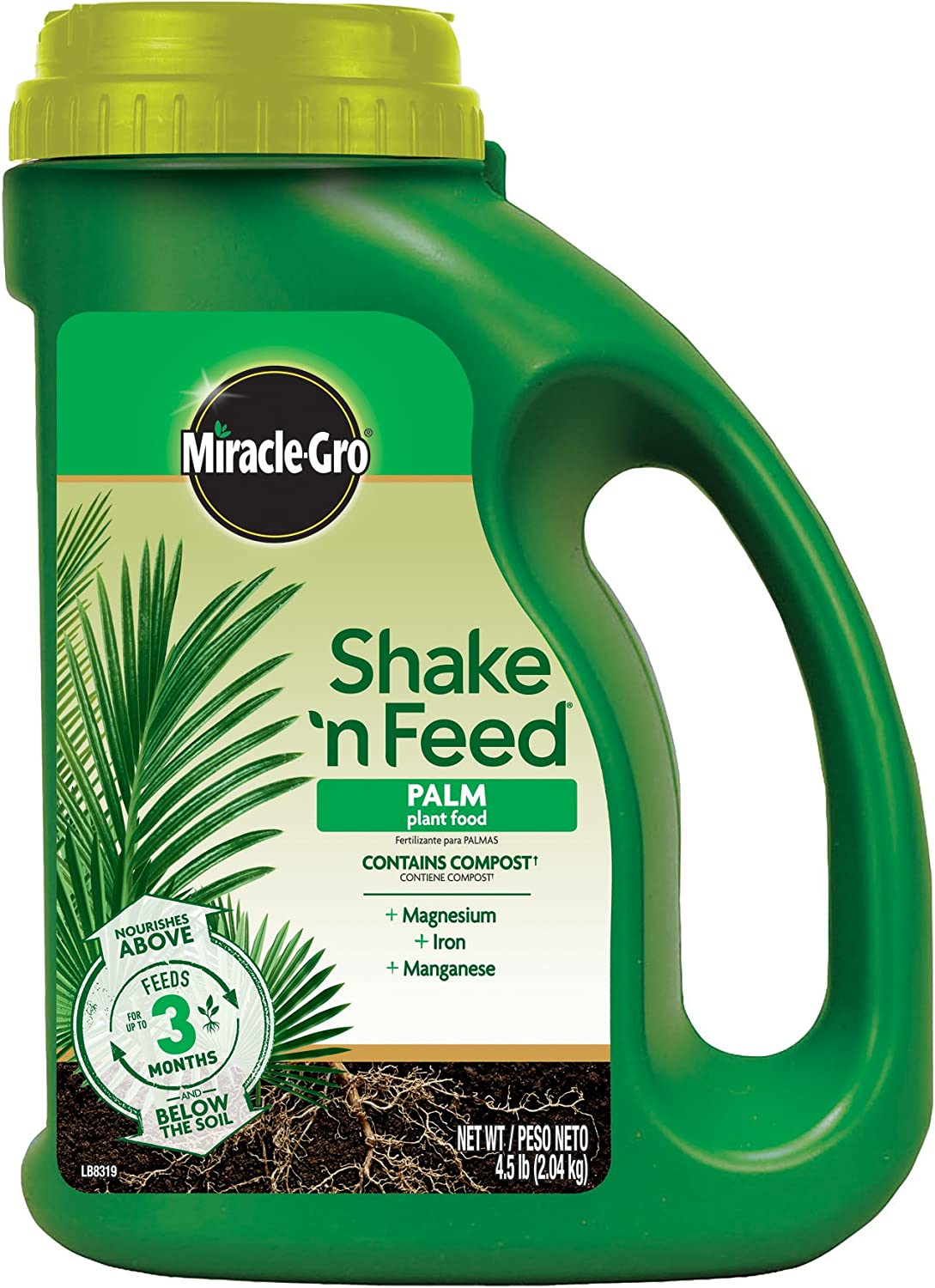Miracle-Gro 3002910 Shake 'N Feed Continuous Release Palm Plant Food