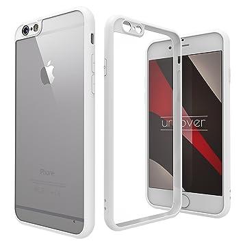 Urcover Funda iPhone 6 / 6s Simply Back-Case Transparente con ...