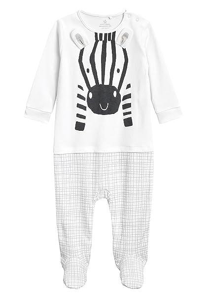 next Bebé-Niños Pijama Tipo Pelele con Diseño De Cebra (0-18 Meses