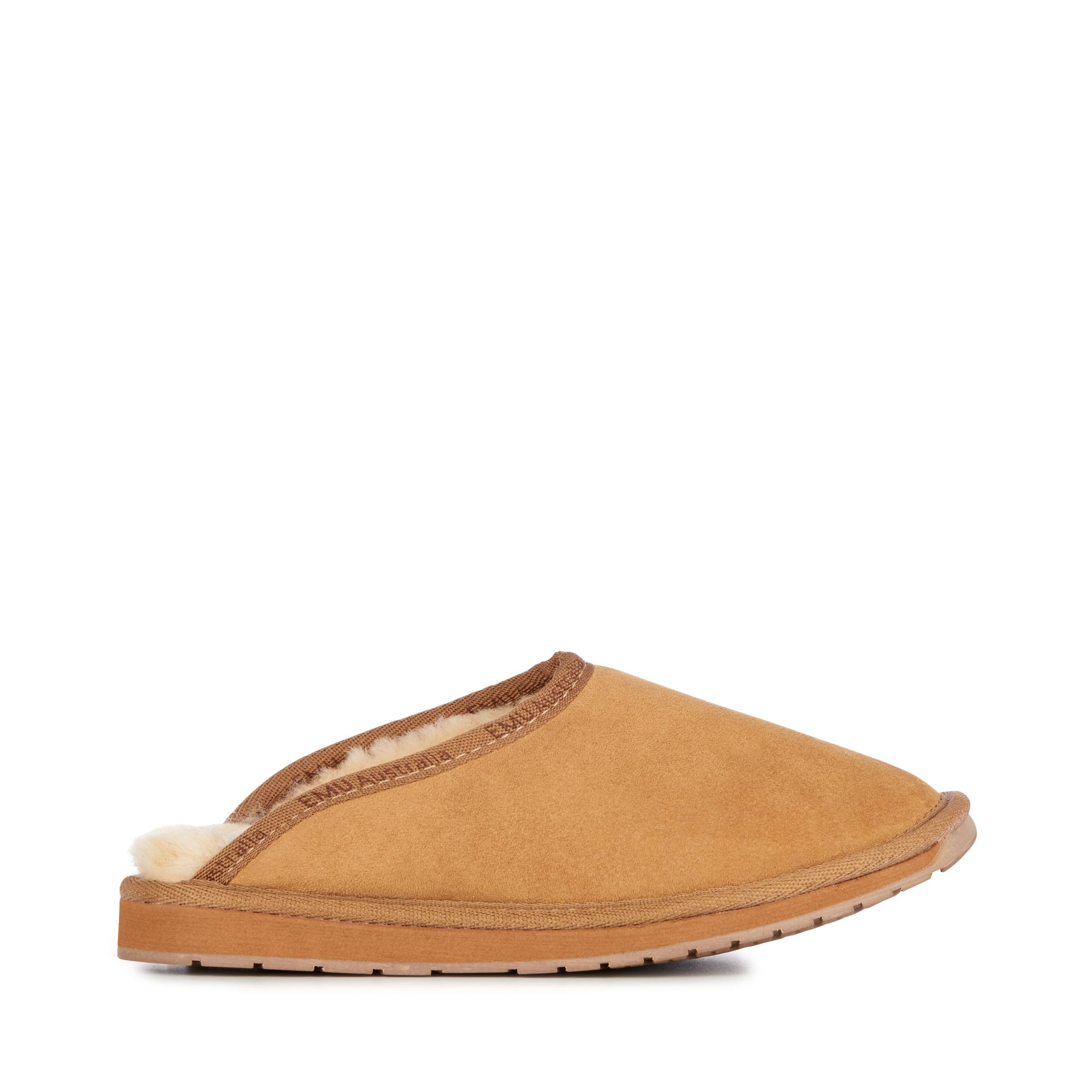 EMU Australia Mens Slippers Platinum Esperence Sheepskin Slipper Size 9