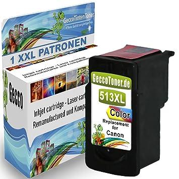 Premium Cartucho de Tinta Compatible con Canon CL-513 XL Color de ...